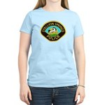 Stallion Springs Police Women's Light T-Shirt