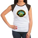 Stallion Springs Police Women's Cap Sleeve T-Shirt