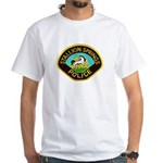 Stallion Springs Police White T-Shirt