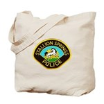Stallion Springs Police Tote Bag
