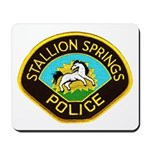 Stallion Springs Police Mousepad