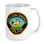 Stallion Springs Police Large Mug