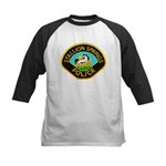 Stallion Springs Police Kids Baseball Jersey