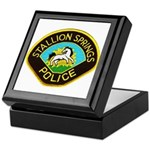 Stallion Springs Police Keepsake Box