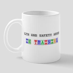 Health And Safety Adviser In Training Mug