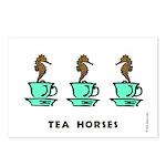 Tea Horses Postcards (Package of 8)