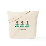 Tea Horses Tote Bag