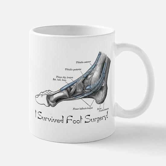 I Survived Foot Surgery! Mug