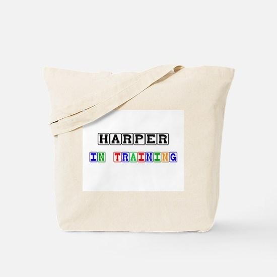 Harper In Training Tote Bag