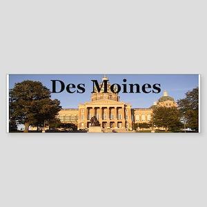 Des Moines Bumper Sticker