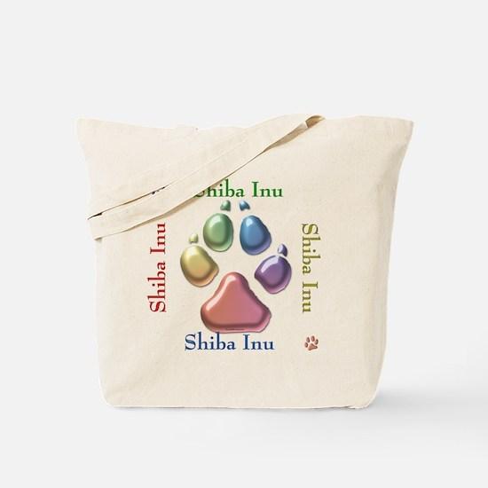 Shiba Name2 Tote Bag