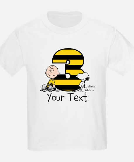 Charlie Brown Snoopy 3-Year-Old T-Shirt