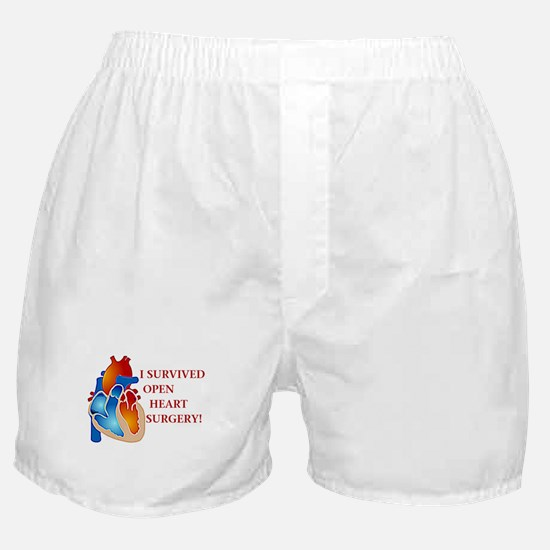 I Survived Heart Surgery! Boxer Shorts
