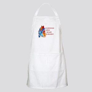 I Survived Heart Surgery! BBQ Apron