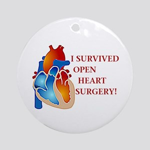I Survived Heart Surgery! Ornament (Round)