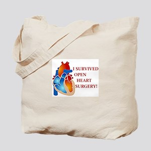I Survived Heart Surgery! Tote Bag