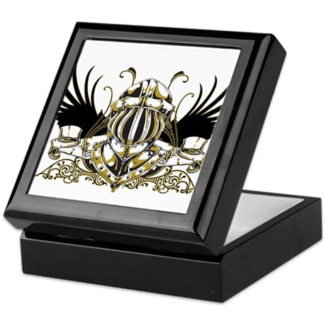 Golden Knight Keepsake Box