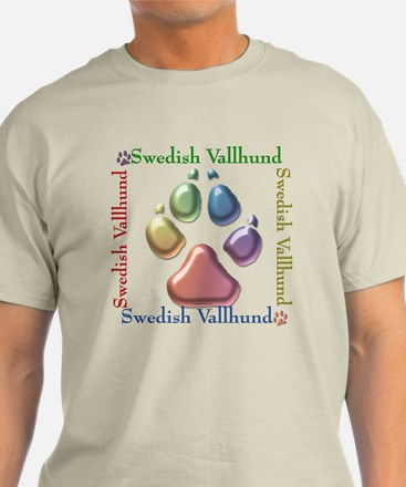 Vallhund Name2 T-Shirt