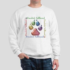 Vallhund Name2 Sweatshirt