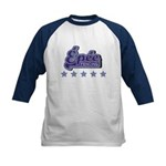 Epee Fencing Kids Baseball Jersey