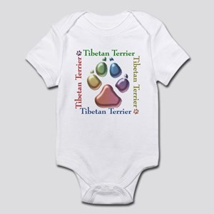 Tibetan Terrier Name2 Infant Bodysuit