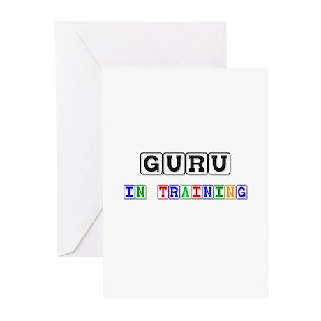 Guru In Training Greeting Cards (Pk of 10)