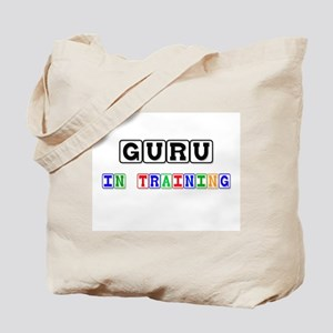 Guru In Training Tote Bag