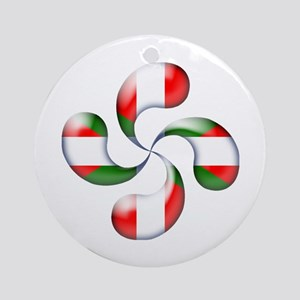 Basque Candy Ornament (Round)