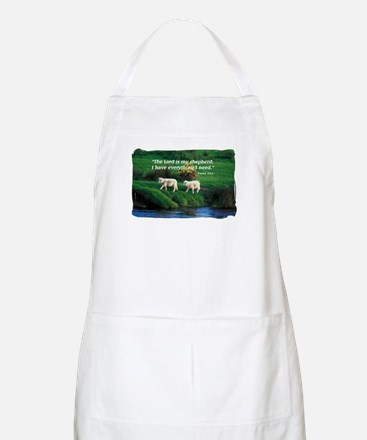 The LORD is my Shepherd BBQ Apron