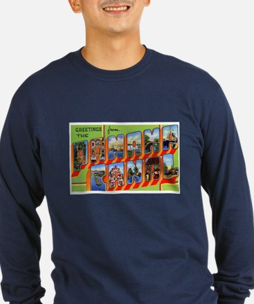 Panama Canal Greetings (Front) T