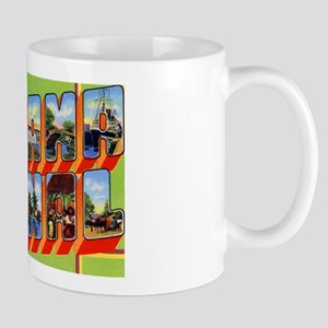 Panama Canal Greetings Mug