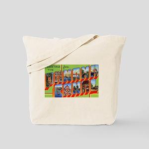 Panama Canal Greetings Tote Bag