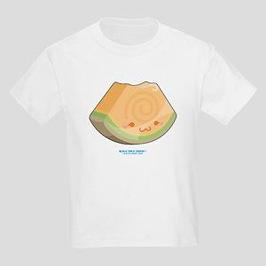 Kawaii Cantaloupe Slice Kids Light T-Shirt