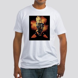 All Tied Up! Fitted T-Shirt