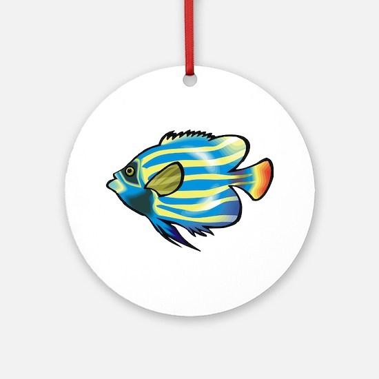 Tropical Fish 1 Keepsake (Round)