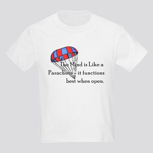 The Mind is like a parachute Kids T-Shirt