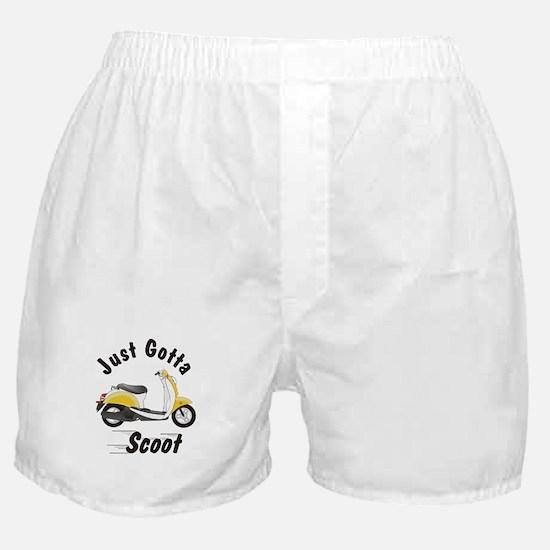 Just Gotta Scoot Metro Boxer Shorts
