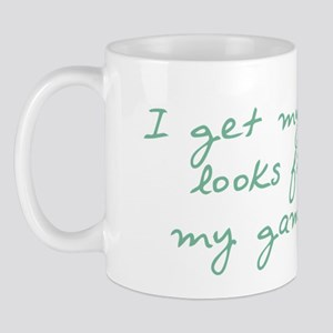 Get My Looks from Gammie Mug