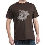 Writer Author Gift Dark T-Shirt