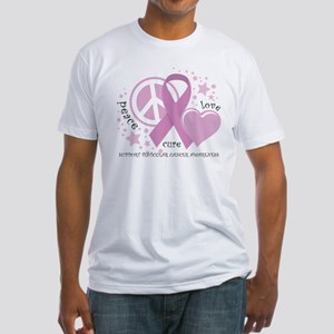 Testicular Cancer PLC Fitted T-Shirt