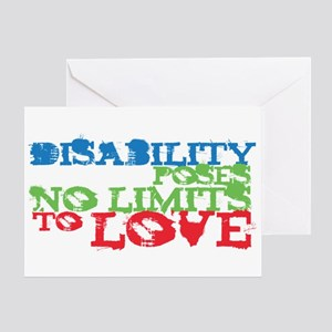 Disability + Love Greeting Card