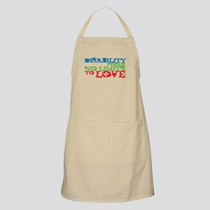 Disability + Love BBQ Apron