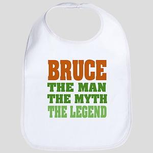 Bruce The Legend Baby Bib