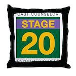 TRW Stage 20 Throw Pillow