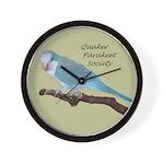 Blue Quaker Wall Clock