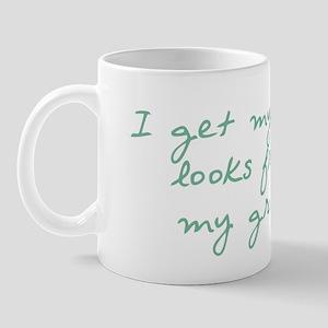 Get My Good Looks from Gram Mug