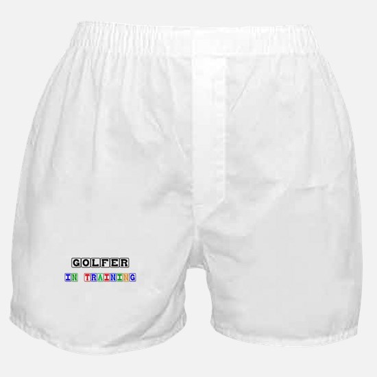 Golfer In Training Boxer Shorts