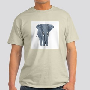 Elephant Front & Back Light T-Shirt