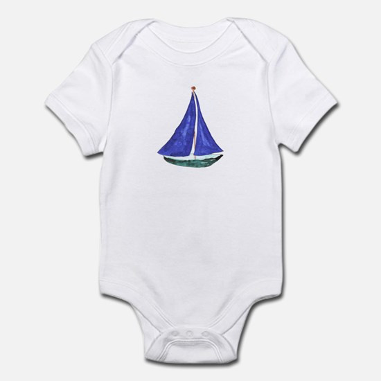 Sailboat Infant Creeper