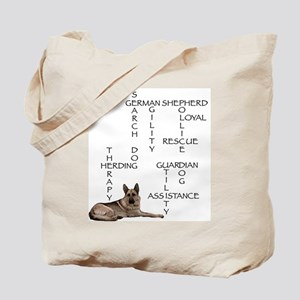 GSD crossword puzzle Tote Bag